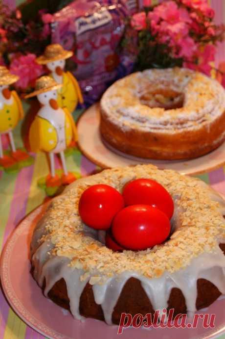 Быстрый вкуснейший итальянский Пасхальный кулич без дрожжей