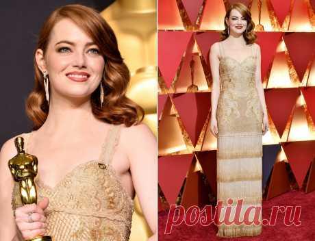 30 главных нарядов «Оскара-2017» - Светская жизнь - Леди Mail.Ru