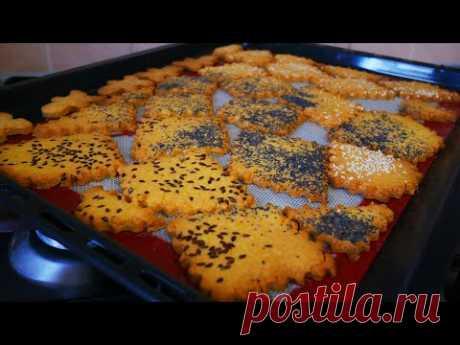 Песочное печенье на желтках. Вкусное песочное печенье с кунжутом, маком и семенами льна