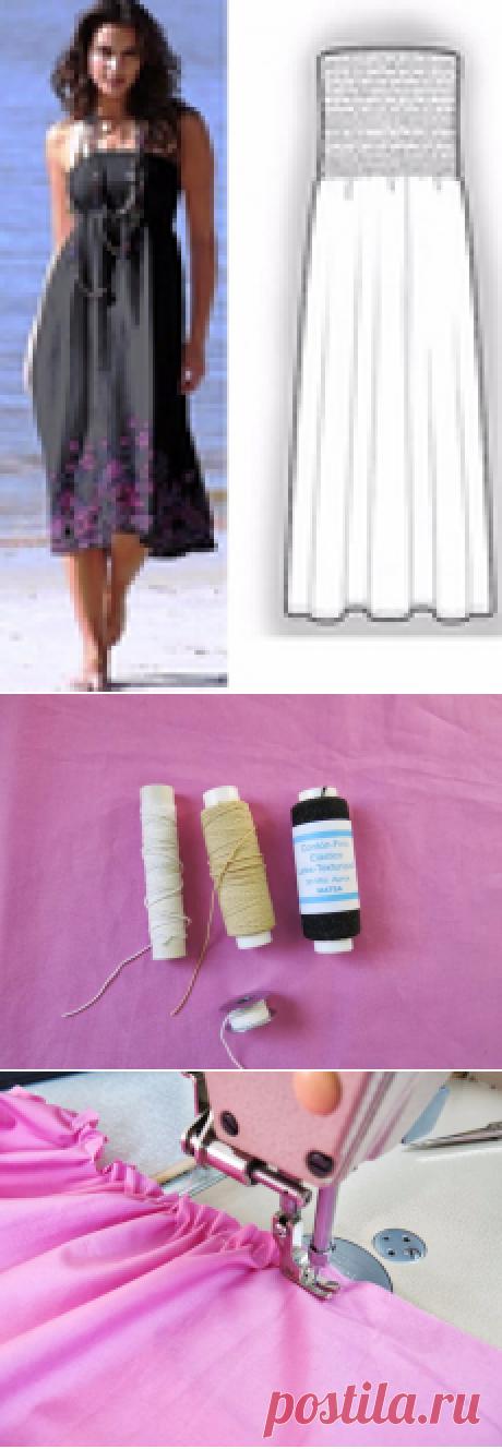 Три способа сборки на резинку. Мастер-класс