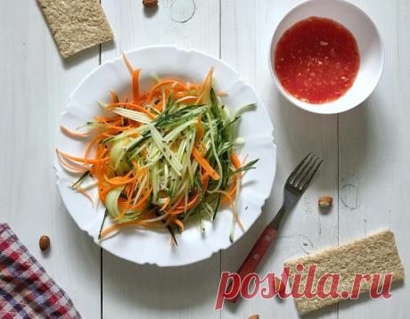 8 простых и вкусных салатов из овощей для детей от года