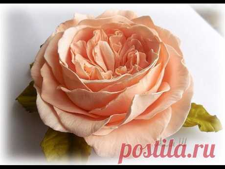 Мастер-класс: Пионовидная роза из фоамирана #handmade #FoamFlowers #мастеркласс #фоамиран  Автор: Алла Шворак  Источник: https://www.youtube.com/watch?v=xBO5jT4Z-N0