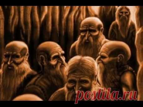 Цивилизация подземных карликов. Земля территория загадок. - YouTube