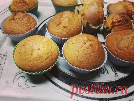Готовлю кексы за 15 минут из простейших продуктов. Рецепт от многомамы   Мемуары многомамы   Яндекс Дзен