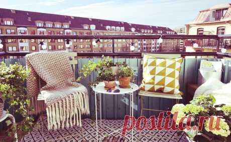 Отдых на маленьком балконе, это может себе позволить каждый | WOW INTERIOR | Яндекс Дзен