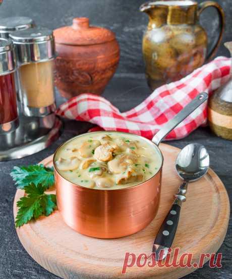 Грибной соус к мясу на Вкусном Блоге