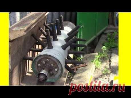 Перосъемная машина Процесс постройки