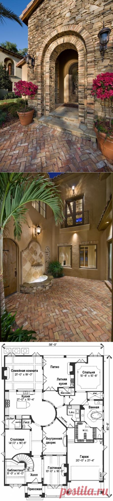 Проект идеального загородного дома с восточным колоритом - Roomble.com