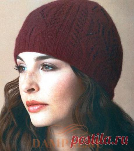 Вязаная шапка «Platonia»   DAMские PALьчики. ru