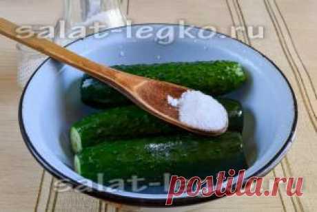 Огурцы малосольные, рецепт: хрустящие быстрого приготовления