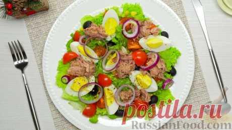 Салаты с тунцом - идеально для здоровья, красоты и вкуса!