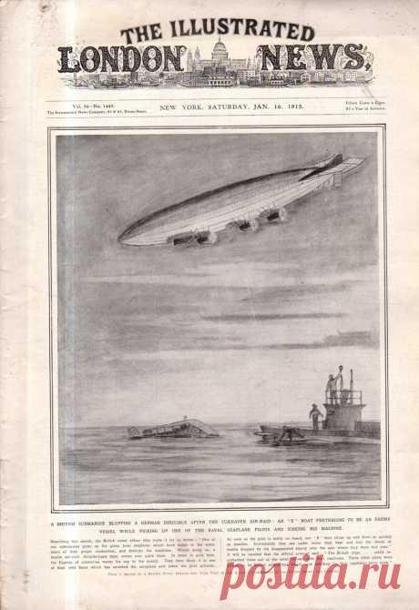 1915.01.16 - The Illustrated London News (New York) | Sovetika.ru - обложки старых журналов