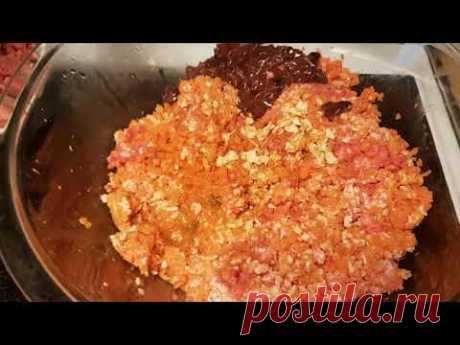 Рецепт сырого натурального питания для собак 7.