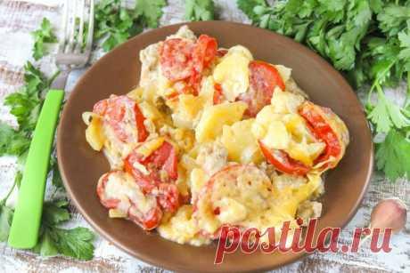 Мясо по-французски с картошкой в мультиварке: рецепт с фото из свинины (+отзывы)