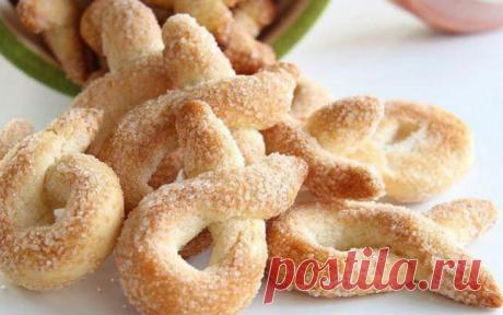 Простой рецепт хрустящего домашнего печенья от итальянской бабушки. На скорую руку! - Лучшие рецепты для Вас!