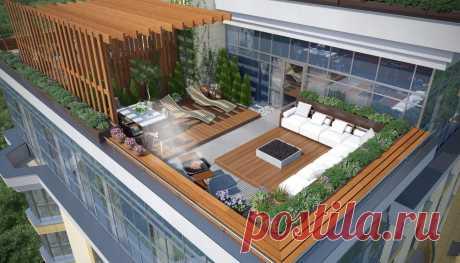 Обзор 5 столичных новостроек с просторными террасами