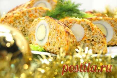 Рулет из курицы «Рождественский» – Рецепт с фото. Рецепты. Закуски