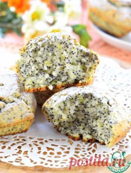 Быстрые маковые кексы - кулинарный рецепт
