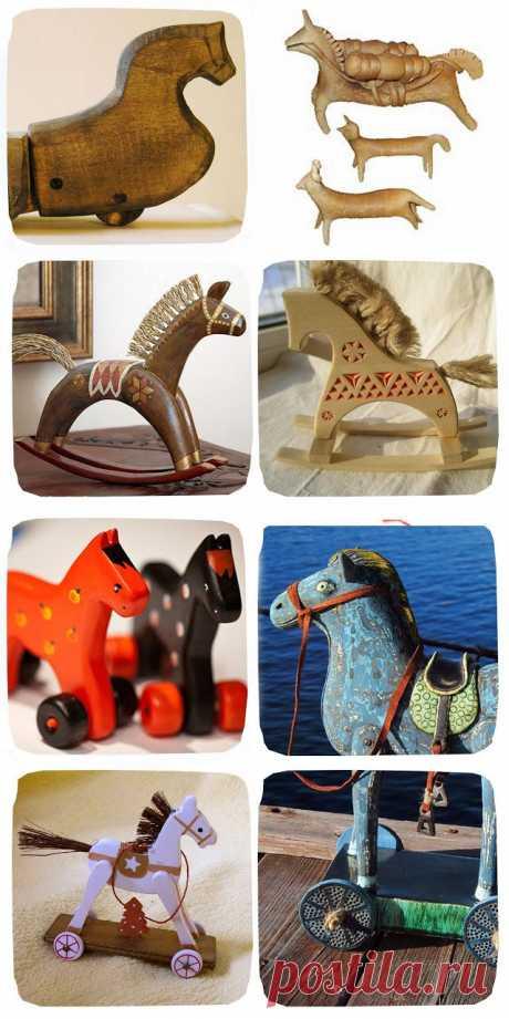 OYO... или мамские будни дизайнера: Гимн игрушечной лошадке!