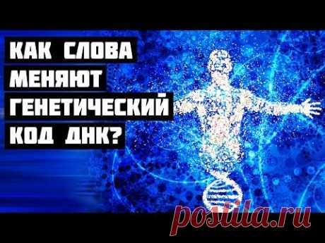 Как Cлова Меняют Генетический Код ДНК? - YouTube