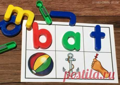 Magnetic Letters: from Beginning Sounds to CVC Words | Liz's Early Learning Spot