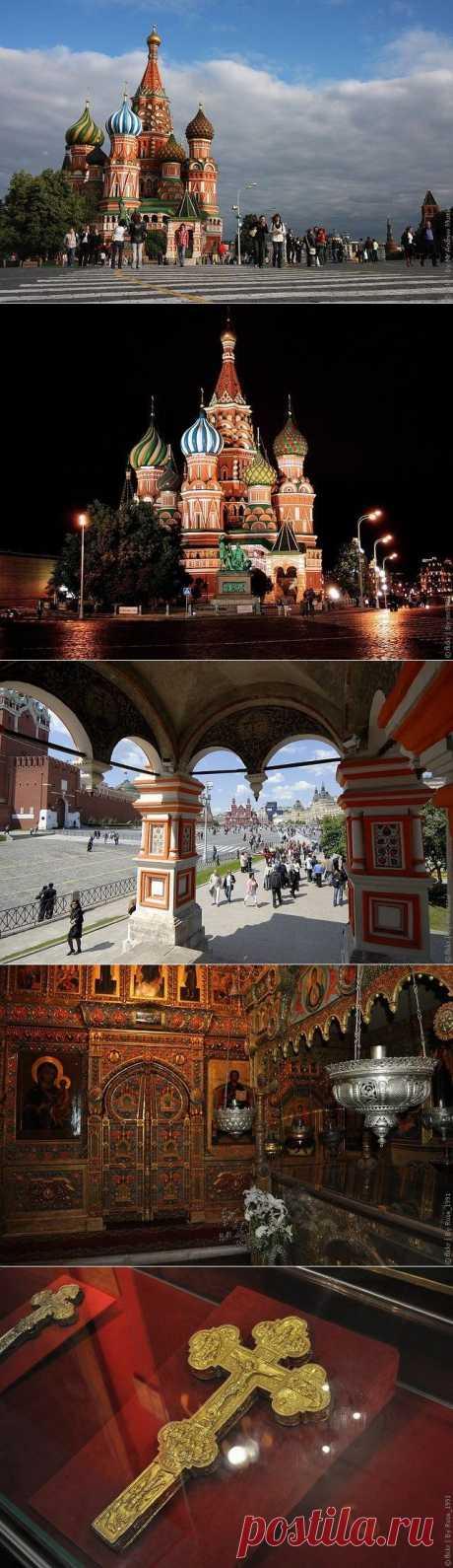 Собор Василия Блаженного в Москве (Покровский собор), фото собора, храма