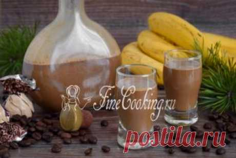 Кофейно-банановый ликер Для меня это самый вкусный ликер, который можно приготовить в домашних условиях.