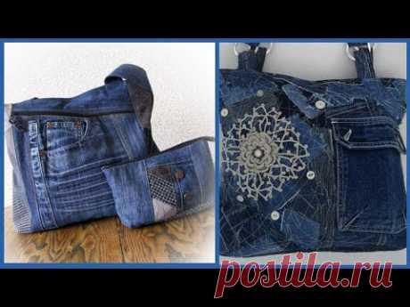 Джинсовая сумочка новая стильная самая красивая коллекция