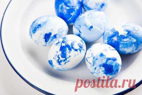 7 лучших способов красить яйца на Пасху - Ваши любимые рецепты - медиаплатформа МирТесен