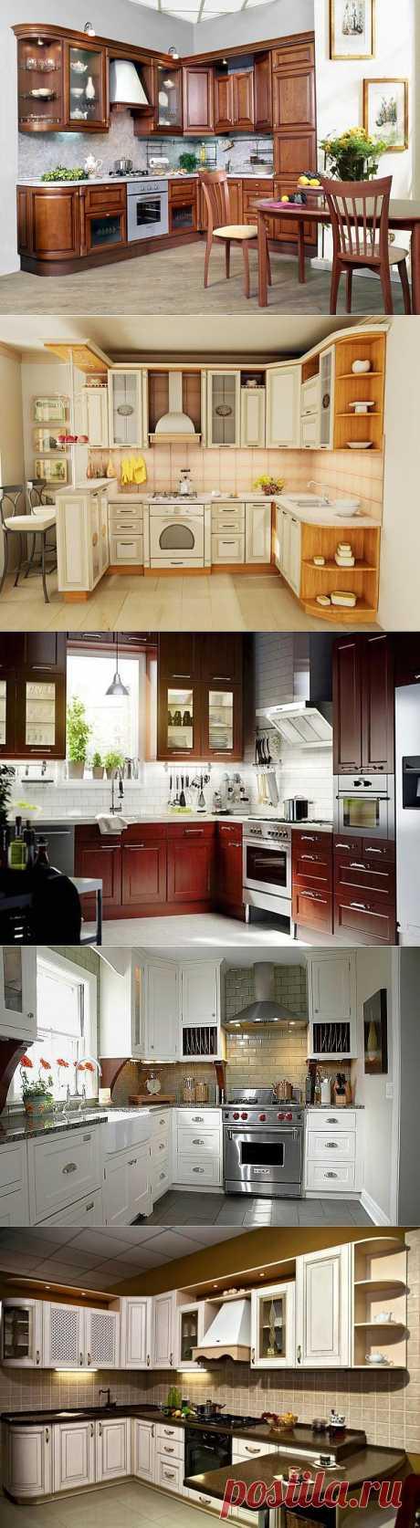 Варианты дизайна кухни.
