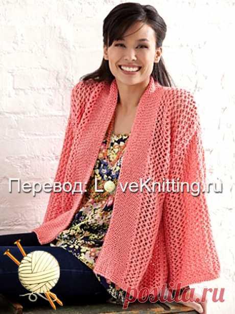 Кимоно с узором | Loveknitting.ru
