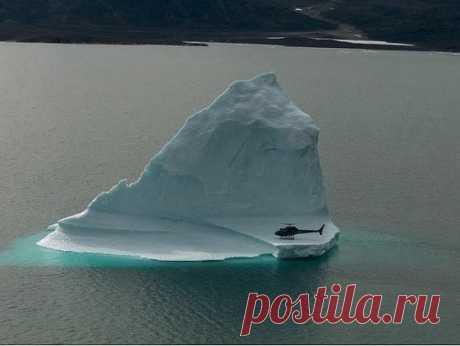 Посадка на айсберг.