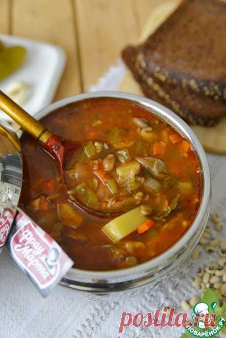 Постный рассольник с фасолью и грибами – кулинарный рецепт