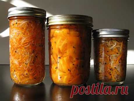 Рецепт салата из моркови и томатов на зиму - Овощи на зиму . 1001 ЕДА вкусные рецепты с фото!