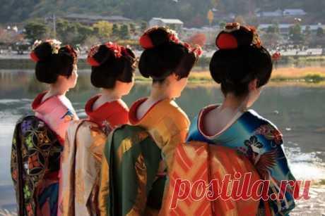 Диета японских гейш: воистину уникальная диета!   Чаровница и проказница