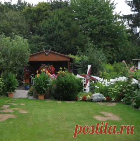 Садовые цветы: Как устроена немецкая дача: это надо видеть.