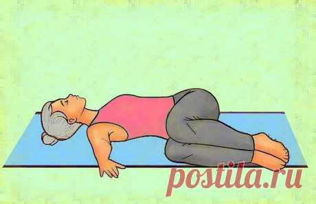 3 простых упражнения из пилатеса для снятия болей в спине   Здоровый Дух   Яндекс Дзен