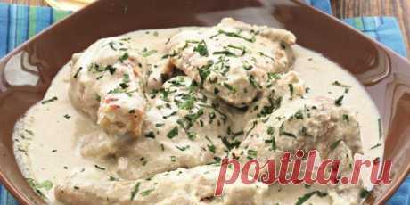 Курица в сливочном соусе : Мясные блюда : Кулинария : Subscribe.Ru
