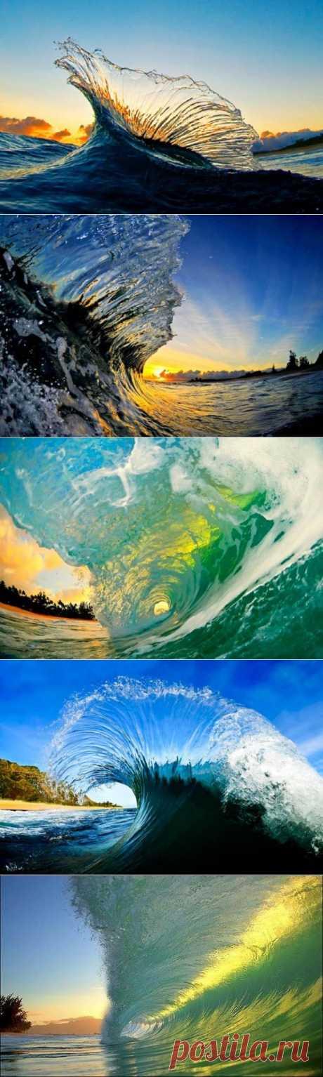 Волны океана в объективе Кларка Литтла. Clark Little (Кларк Литтл) — известный серфингист, признанный фотограф в области морской пучины. Кларк фотографирует волны океана изнутри, тем самым демонстрируя зрителю необыкновенное мастерство и непоколебимое упорство. Благодаря своим фотокартинам, опытный серфер получил всенародное признание и всемирную известность.