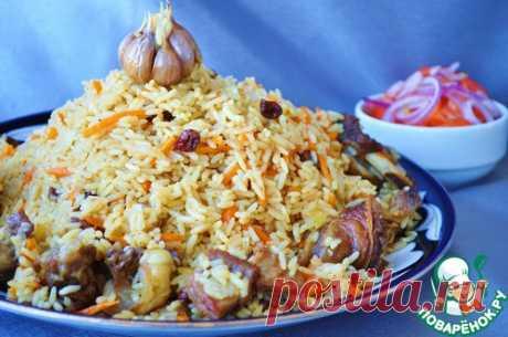 Иранский плов - кулинарный рецепт