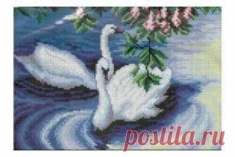 Фабрика Пряжи :: ИСКУСНИЦА :: Пара лебедей