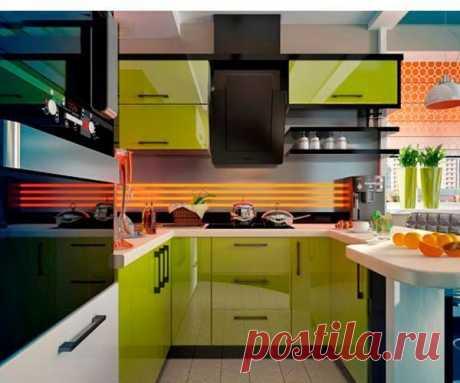 Стильные решения для маленькой кухни — Pro ремонт