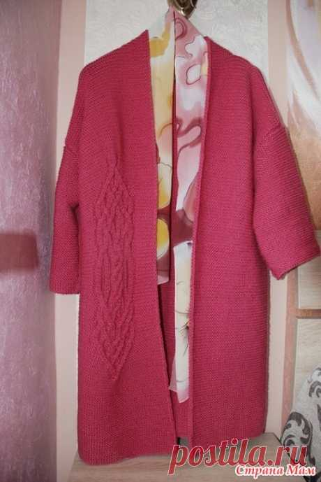Cardigan of my dream platochny knitting from arana - Knitting - the Country of Mothers