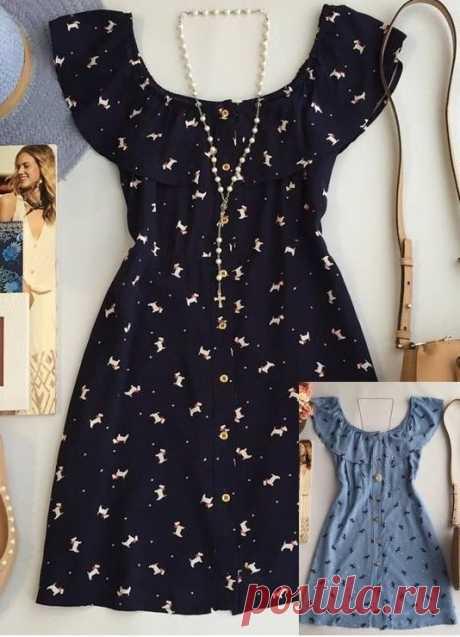 Выкройка летнего платья (Шитье и крой) — Журнал Вдохновение Рукодельницы