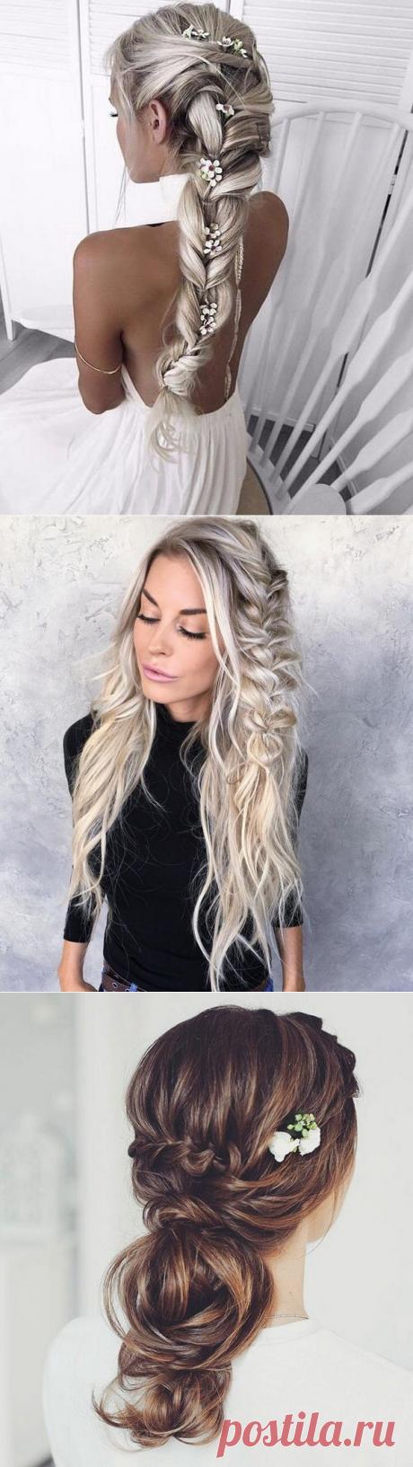 Прически на выпускной 2018: фото, идеи, красивые косички на длинные и средние волосы | GlamAdvice