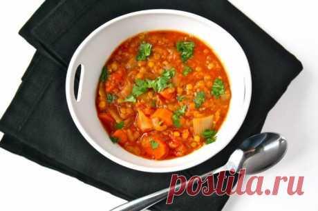 Рагу из помидоров и чечевицы - рецепт с фото / Простые рецепты