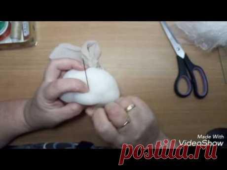 Мастер -класс по пошиву лица для куклы