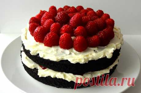 Крем для торта из маскарпоне со сливками: рецепт с фото . Милая Я