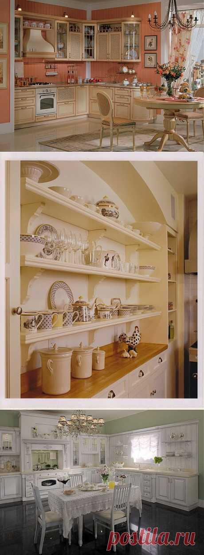 Уютная и комфортная кухня, мечта любой хозяйки