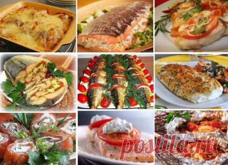 25 вкуснейших рецептов из рыбы Ну очень вкусно!